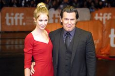 TORONTO, ON - SEPTEMBER 11:  Actor Josh Brolin (R) and Kathryn Boyd attend the 'Sicario' premiere during the 2015 Toronto International Film Festival at Princess of Wales Theatre on September 11, 2015 in Toronto, Canada.  (Photo by Isaiah Trickey/FilmMagic) via @AOL_Lifestyle Read more: http://www.aol.com/article/entertainment/2016/09/25/josh-brolin-marries-kathryn-boyd-in-a-star-studded-ceremony-in-n/21478830/?a_dgi=aolshare_pinterest#fullscreen