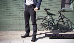 Black Bike to Work Britches - Betabrand