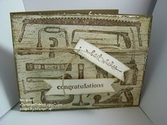 Easy Congratulations card