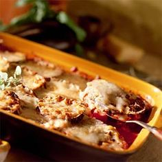 Eggplant Parmesan (Sub bread crumbs for gluten free)