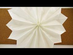 2 Minuten Weihnachtsdeko Stern | Super schneller Stern aus Papiertüten | DIY Christmas - YouTube