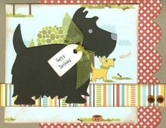Paper Creations by Tami: Happy Birthday to the Dog Lover!