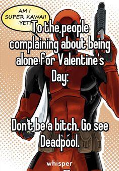 go to see Deadpool