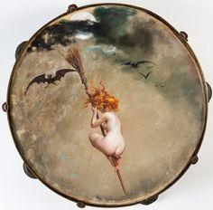 Luis Ricardo Faléro -La Sorcière- 1882 - Galerie Talabardon & Gautier