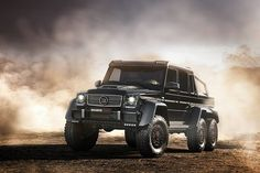 Brabus 700 6x6! This is one of the means looking trucks you will find. Hit the image to see their work!