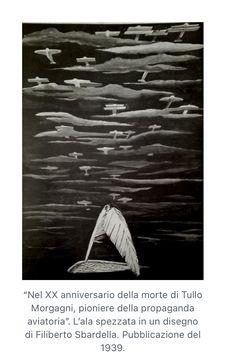 Disegno futurista dedicato al XX anniversario della morte di Tullo Morgagni. Amnesty International, Statue, Movie Posters, Death, Film Poster, Billboard, Sculptures, Film Posters, Sculpture