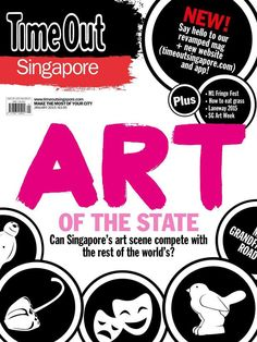 January 2015 - Can Singapore's art scene compare with the rest of the world's?
