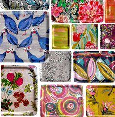 LALIE DESIGN  éditrice de tissus et d'imprimés pour l'ameublement www.laliedesign.com