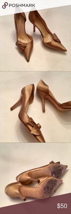 0a86fd384e7e Kate Spade heels Fabulous Kate Spade satin heels. This shoes are in good  condition does