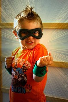 DIY Superhero Costume : DIY Super Hero! Tutorial  : DIY Halloween