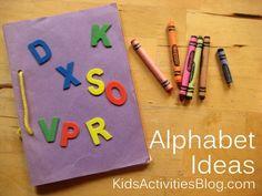 Teach The Alphabet: Keepsake Book