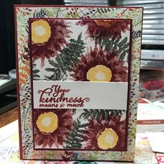Kristin's Cards and Creations: Painted Harvest