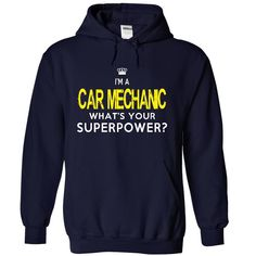 I am a CAR MECHANIC T-Shirts, Hoodies. VIEW DETAIL ==► https://www.sunfrog.com/LifeStyle/I-am-an-CAR-MECHANIC-3456-NavyBlue-19355691-Hoodie.html?id=41382