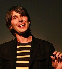 Professor Brian Cox, particle physicist, works on Higgs Boson/Large Hadron Collider, explains physics in a way I can almost understand. Oh, and one of People's sexiest men alive in 2009.