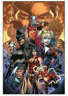 Suicide Squad JLA Team Up