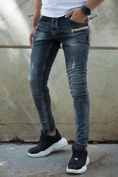 Blugi Slim COD B4714 Cod, Skinny Jeans, Slim, Pants, Style, Fashion, Trouser Pants, Swag, Moda