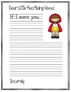 March Literacy Centers and a freebie! Writing Prompts For Writers, Picture Writing Prompts, Writing Workshop, Teaching Writing, Writing Activities, Writing Traits, Traditional Literature, Traditional Stories, Fairy Tale Activities