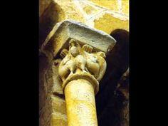 Fotos de:  Cantabria - Casteñeda -Colegiata  - Románico - Capiteles