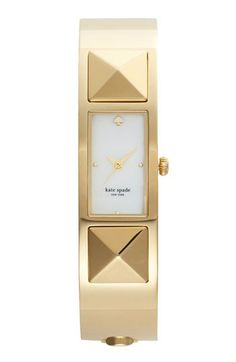 kate spade new york 'carousel' pyramid bangle watch available at #Nordstrom, $250