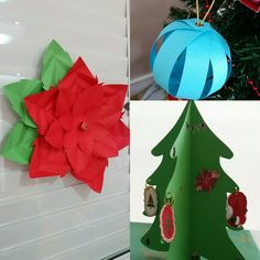 Decoração de Natal Papel para scrapbooking, adesivos e fitas Feliz Natal à todos🎁🎄🎀💖🎅 #vivianegiovanistudio #scrapbooking #natal2016
