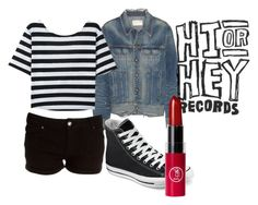"""""""Nia Lovelis (Hey Violet)"""" by xx-laila-xx ❤ liked on Polyvore featuring rag & bone and Converse"""