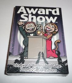 Award Show Card Game by Twilight Creations Inc 2005 Professional Game Design NEW #TwilightCreationsInc