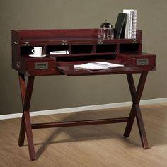 EDITOR Schreibtisch braun 106x81x86cm