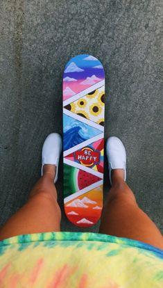 Skateboard Painting Ideas Skiing - Skateboard Painting Ideas Skiing Source by - Painted Skateboard, Skateboard Deck Art, Penny Skateboard, Skateboard Design, Ripstick Skateboard, Carver Skateboard, Skateboard Tumblr, Skateboard Tattoo, Skateboard Videos
