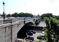 Multiple lines of traffic going both under and over the Pont d'Austerlitz bridge in Paris.  You may be interested in more; www.eutouring.com/images_pont_d_austerlitz.html