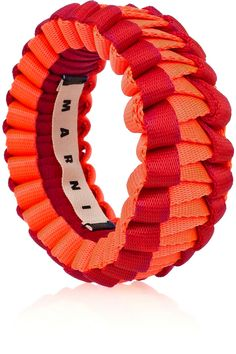 Marni Two-tone woven bangle - 70% Off Now at THE OUTNET