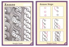 Tangle+Card+-+Annee by Sandy Steen Bartholomew, Certified Zentangle Teacher