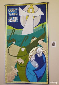 wonderful abstract Advent banner