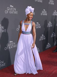 Lupita Nyong'o in Elie Saab at the 'Queen of Katwe' Premiere - The Absolute Best Red Carpet Looks of 2016  - Photos