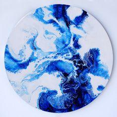 b2 - Jasper Hills Acrylic Pouring Art, Acrylic Art, Flow Painting, Pour Painting, Epoxy Resin Art, Resin Artwork, Marble Art, Alcohol Ink Art, Art N Craft