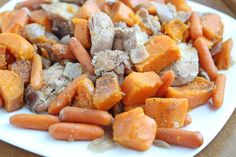 #mealplan Week of 1/13 ~ Slow Cooker Maple Chicken with Sweet Potatoes