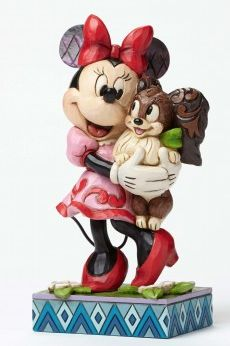 "Released 2015. ""Furrever Friends"" - Minnie and Fifi Figurine. 4048657"
