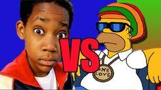 Batalha de Rap,cris VS Homer simpson