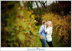Winery Engagement Pictures Pittsburgh