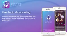 ZCast live podcasting