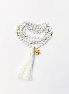 Mala Beads, Wedding Mala, Knotted Mala Beads, #jewelry #necklace @EtsyMktgTool http://etsy.me/2gcnCmB