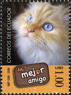 Mi Mejor Amigo   postage stamp - Ecuador, 2006