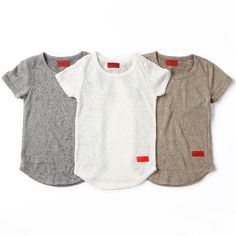 """For the lil ones... @HausOfJR """"Tyson-Distressed Elongated Tee"""" 