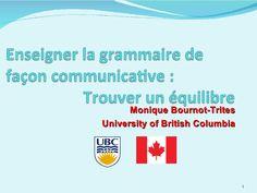 Plan de leçon de grammaire communicative by epltubc via slideshare