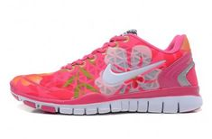Nike Free TR Fit 2 Womens Pink White Green