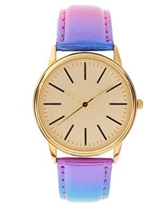 ASOS Lavender Metallic Watch