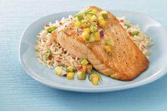 Prijedlog za brzi ručak: Losos iz pećnice s rižom