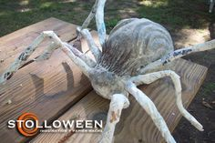 Paper Mache spiders