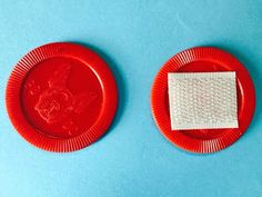Velcro on poker chip as a fidget in a child's pocket