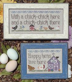 Farms - Cross Stitch Patterns & Kits - 123Stitch.com