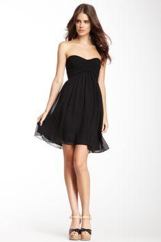 Diane von Furstenberg Asti Silk Short Party Dress on HauteLook